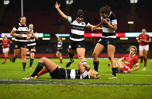 Barbarians FC topple Wales Women at the Principality Stadium