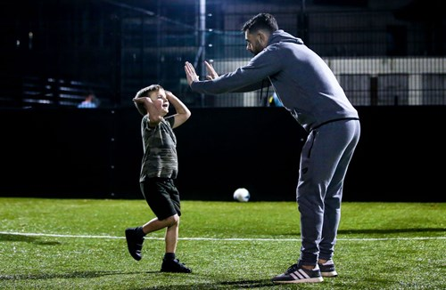 City players attend Pan Disability Youth Football session
