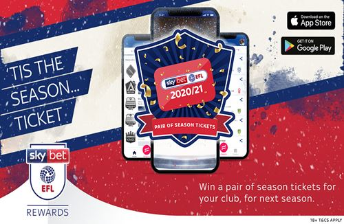 Win a pair of Season Tickets EVERYDAY until Christmas Eve