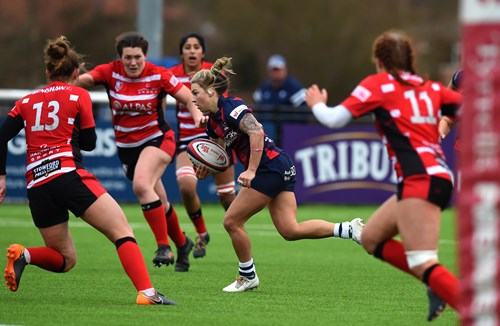 Bears Women trio selected for Wales' Six Nations opener