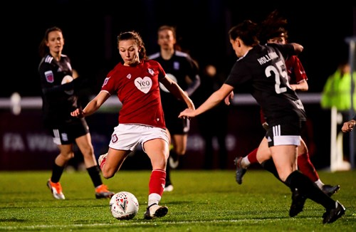Report: Bristol City Women 0-2 Birmingham City