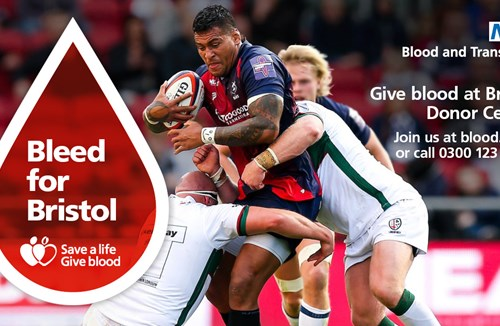 Bears backing blood donation campaign