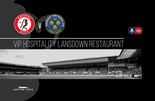 Emirates FA Cup hospitality at Ashton Gate