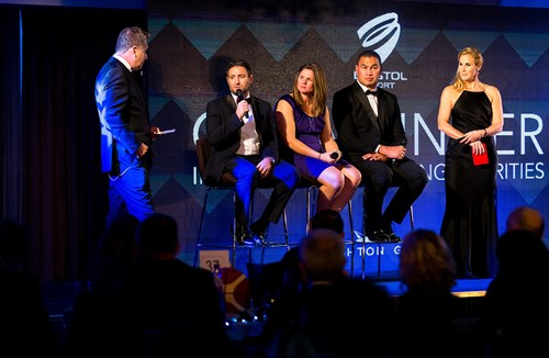 Players and staff set for Bristol Sport Gala Dinner