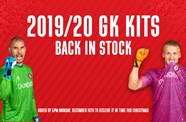 City Goalkeeper kits back in stock
