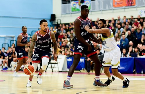 Full Game: Bristol Flyers v Worcester Wolves