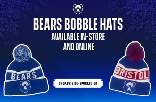 Bobble hats now available in store and online