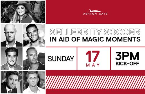 TV stars line up for Magic Moments charity football match