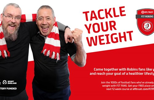 Bristol City are helping fans to tackle their weight