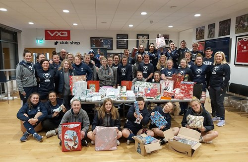 Bristol Bears Women support Next Link this Christmas