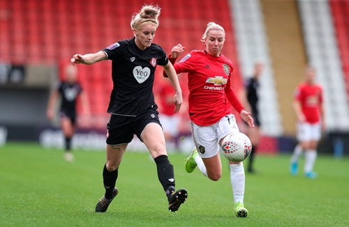 Highlights: Manchester United 0-1 Bristol City Women