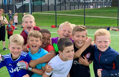 February half term holiday football camp now on sale