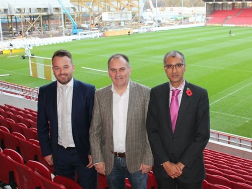Father And Son Team Support Bristol Sport Once Again