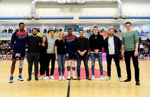 Reigning Corporate Basketball champions visit Flyers matchday