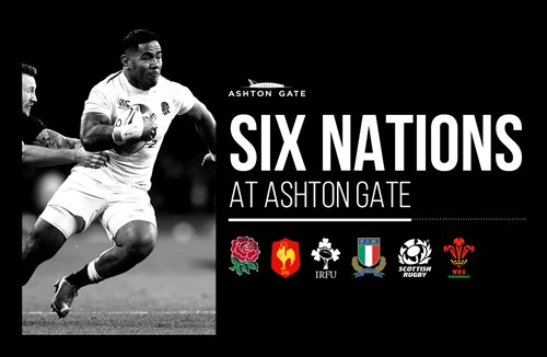 Watch the Six Nations at Ashton Gate