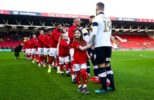 Take centre stage at Ashton Gate this season