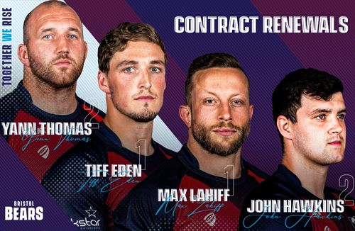Bears quartet commit futures to the club
