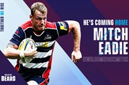 Mitch Eadie returns home to Bristol Bears