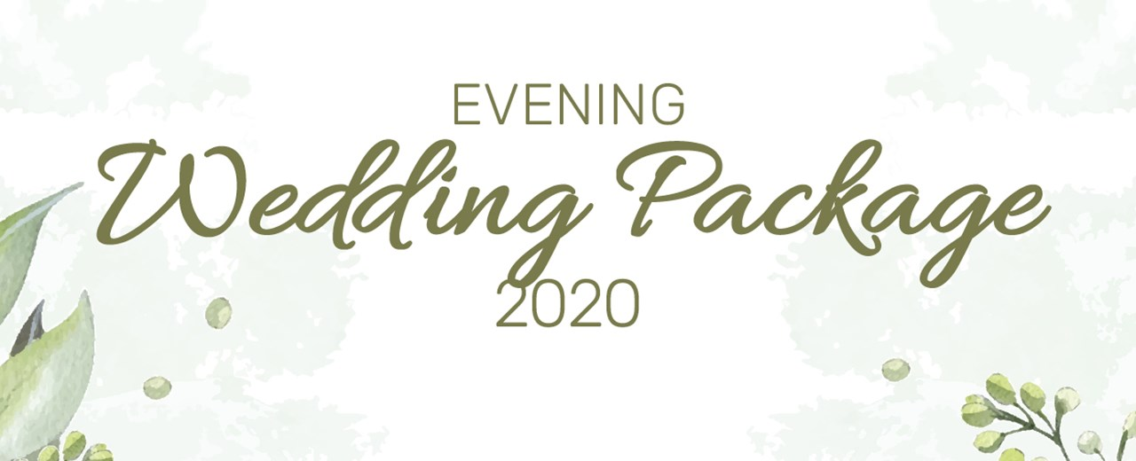 Evening Wedding Package