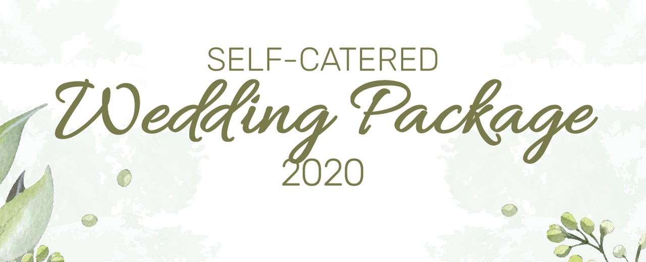 Self-Catered Wedding Package