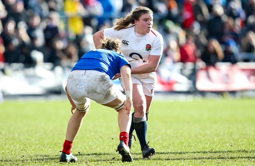 Bears Women duo line up for Red Roses in Le Crunch