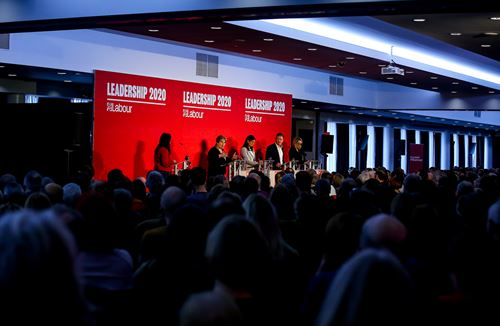 Gallery: Labour Party hustings at Ashton Gate