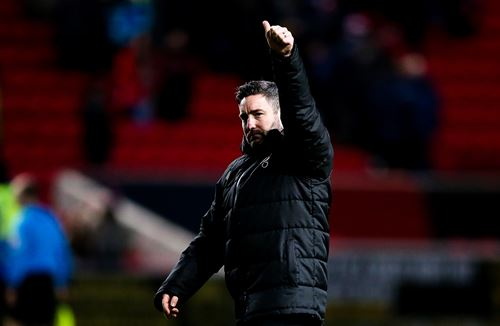 A message from Lee Johnson