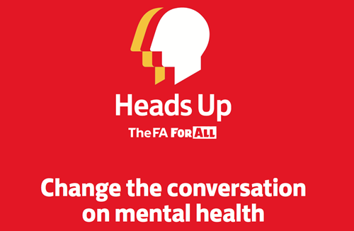 Football unites in support of Heads Up campaign