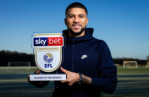 Wells named January Sky Bet Championship player of the month