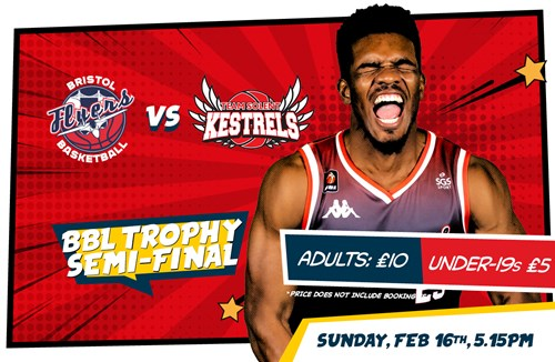 Flyers BBL Trophy semi-final tickets on sale NOW