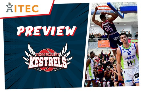 ITEC Preview: Solent Kestrels - BBL Trophy Semi-Final