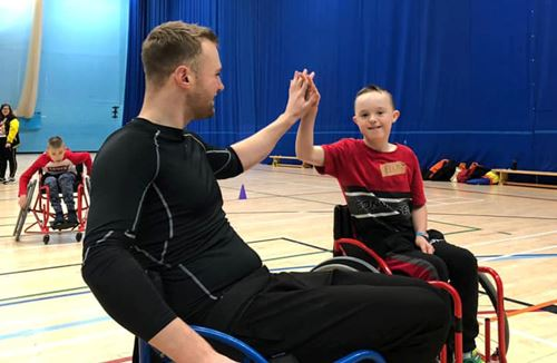 Foundation hold Inclusive Sports Day alongside University volunteers