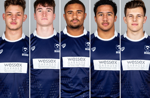 Five Bears named in England U18 squad for February camp