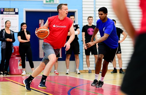 Gallery: Bristol Flyers Corporate Basketball Festival 2020