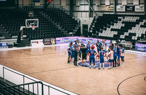Gallery: Coach Kapoulas at GB Training Camp