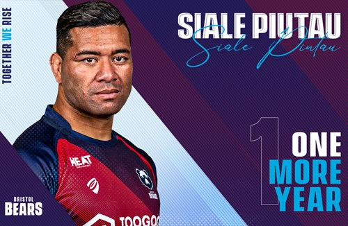 Siale Piutau pens one year extension