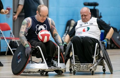 Bears Wheelchair Rugby sets city first