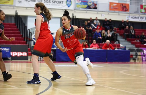 Women's Report: Bristol Flyers 86-80 Nottingham Trent University