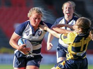 Bristol Ladies Player Scores Late Try To Secure England Win
