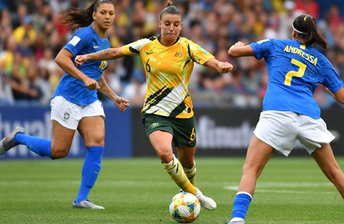 Logarzo and The Matildas secure spot at Tokyo 2020