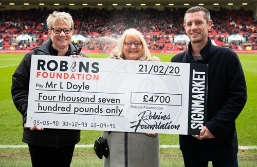Robins Lotto jackpot exceeds £4000