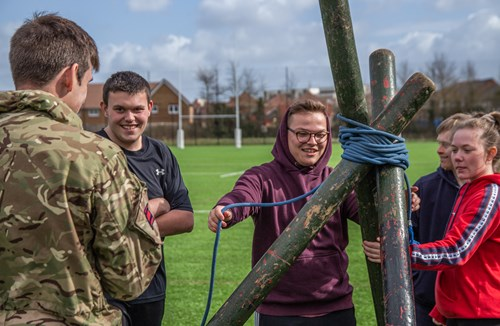 Bears HITZ pupils given Army taster
