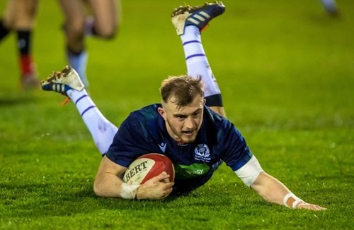 U20 Six Nations: Chamberlain stars as Scotland beat Wales