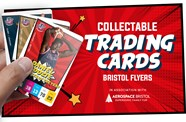 Supersonic 'trading' with Bristol Flyers cards
