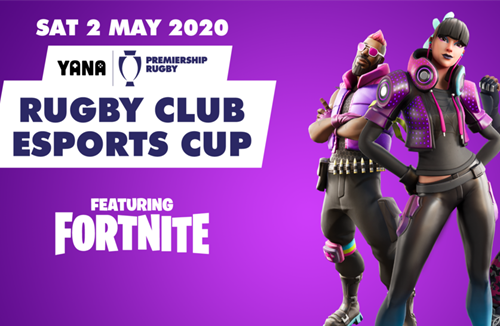 Play Fortnite alongside your Bears heroes in the Rugby Club Esports Cup!