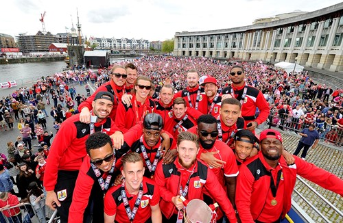 On this day: Champions bus tour