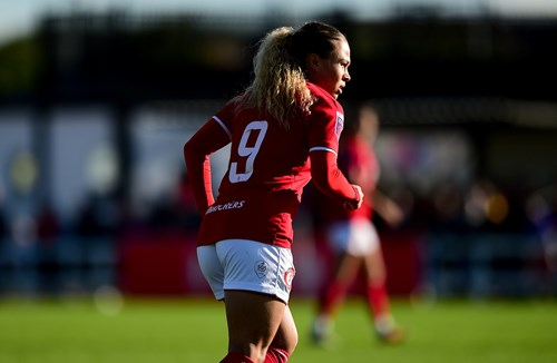 Salmon nominated for BBC Sport WSL Young Player of the Year Award