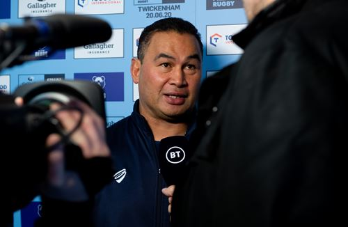 Hear from Pat Lam on BT Sport's Rugby Tonight on Tour
