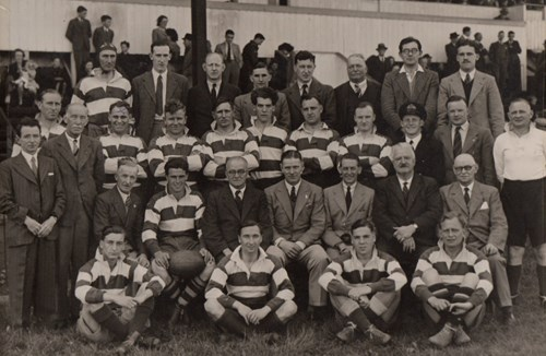 A wartime tale: the Bristol Supporters team