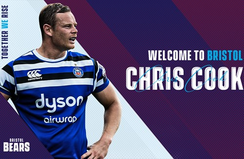 Chris Cook to join Bristol Bears